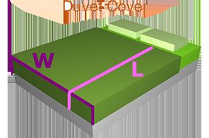 Measuring Guide - Sheet Sets, Duvet Covers & Bed Linen