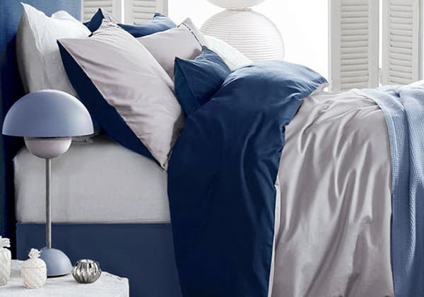 Attirant Custom Size Cotton Sateen Duvet Cover Set