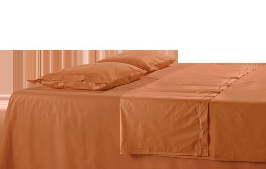 drap coton de satin parure de lit becquet charme et el. Black Bedroom Furniture Sets. Home Design Ideas