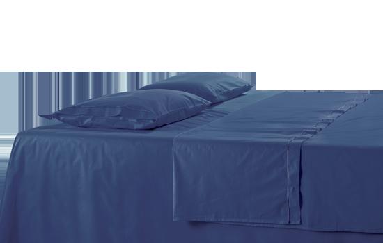 Lenzuola su misura con angoli in percalle   Custom Bedding