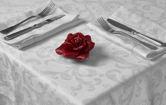 Made to Measure Linen Damask Tablecloths