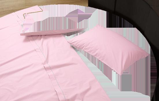 Completo di lenzuola su misura per letto rotondo in percalle ...