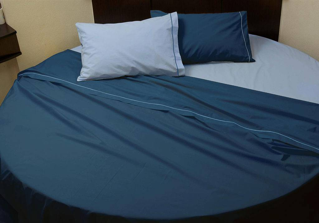 Custom Size Round Bed Sheet Set